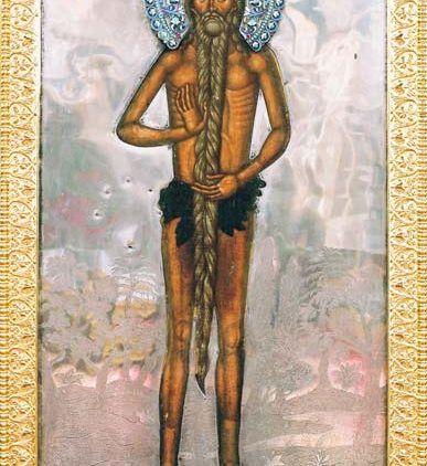 Konserwacja cudownej ikony Świętego Onufrego