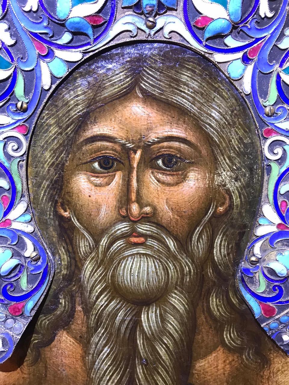 Cudowna ikona św. Onufrego Wielkiego w Warszawie.